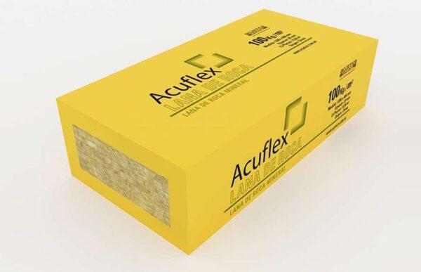 x 12 U Lana de Roca Mineral Acuflex 120x60x2,5 cm x 100Kg